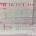 2014年11月 代々木ゼミナール 阪大入試プレ 結果